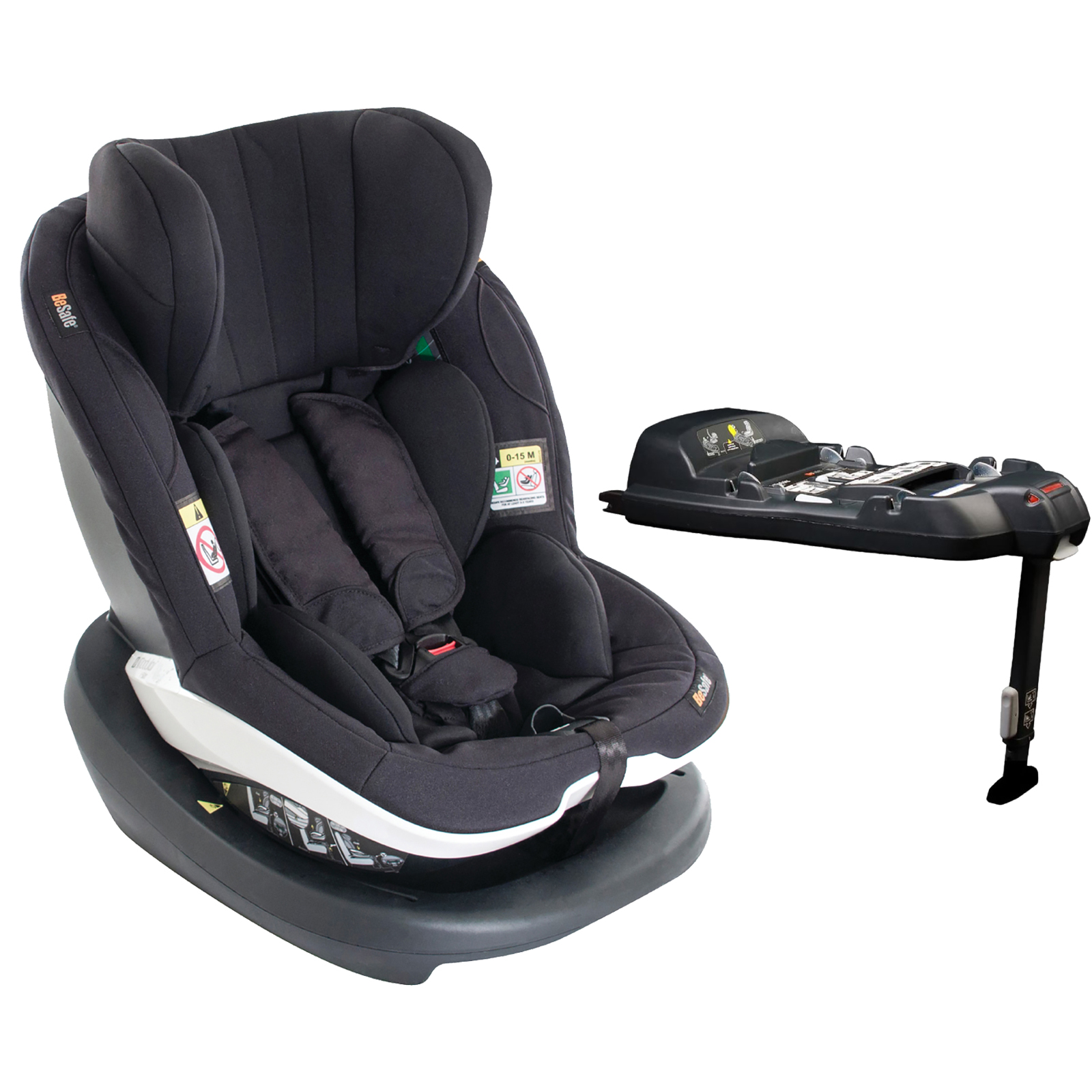 besafe izi modular i size car seat isofix base black. Black Bedroom Furniture Sets. Home Design Ideas