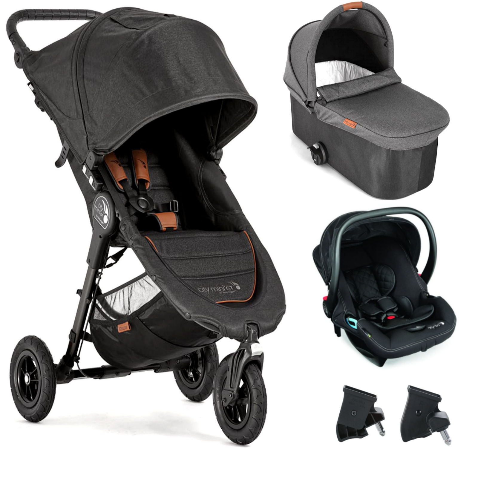 Baby Jogger City Mini GT Travel System (With Carrycot) - 10th ...