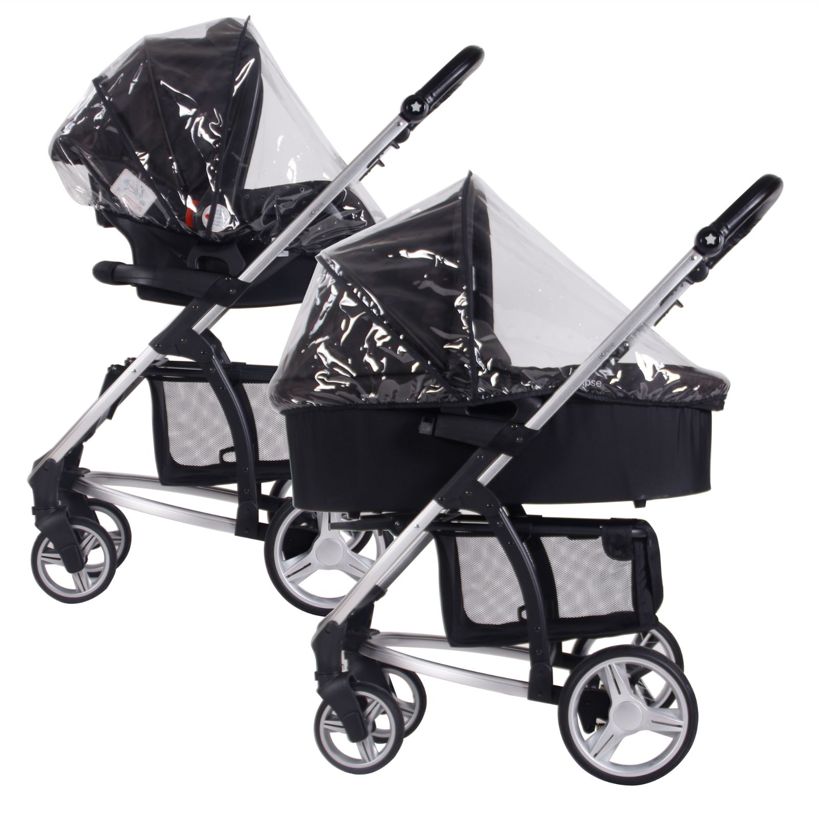My Babiie Bassinet Amp Car Seat Raincover Buy At Online4baby
