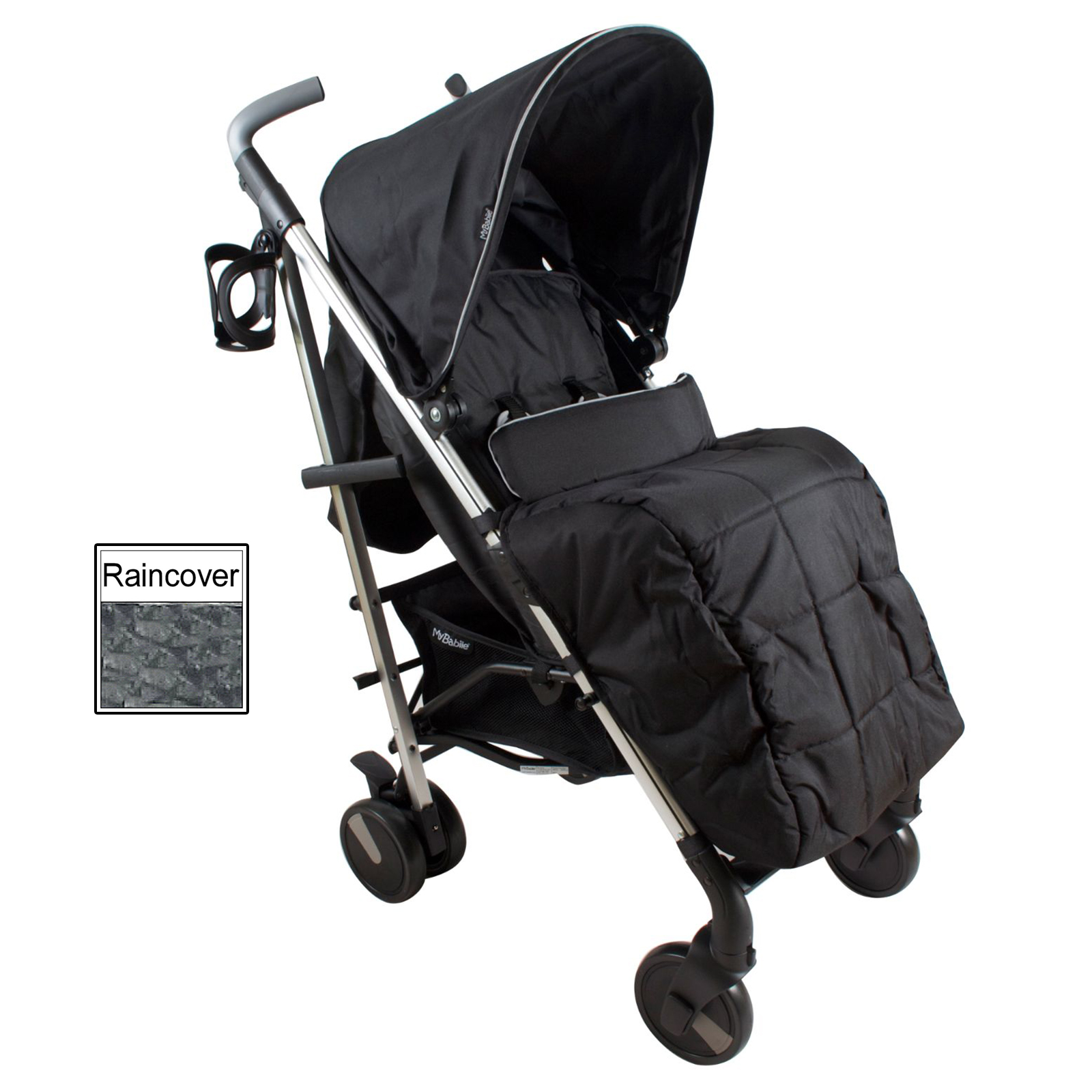 My Babiie Mb51 Stroller Black Buy At Online4baby