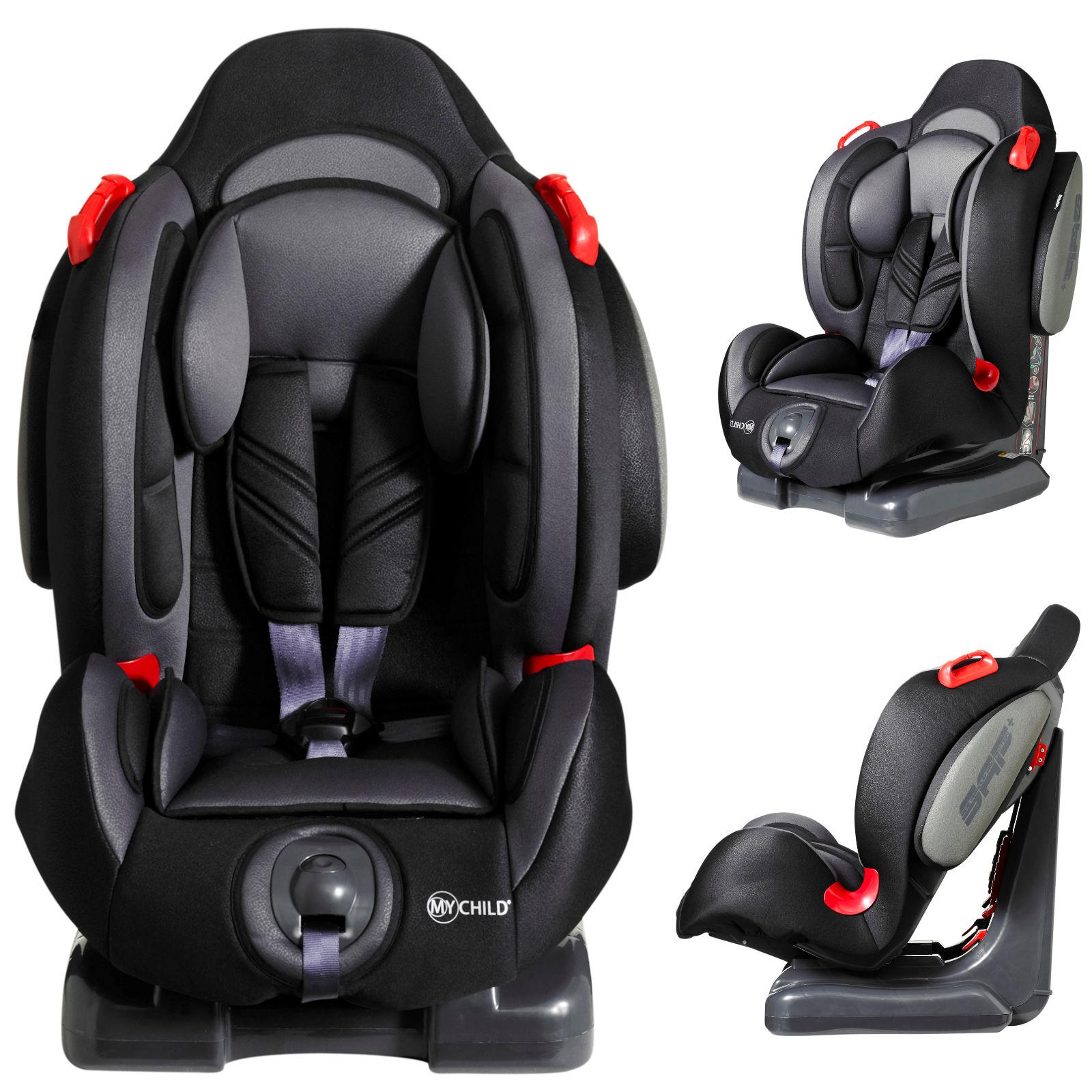 My Child Echo Plus Group 1/2 Car Seat - Black