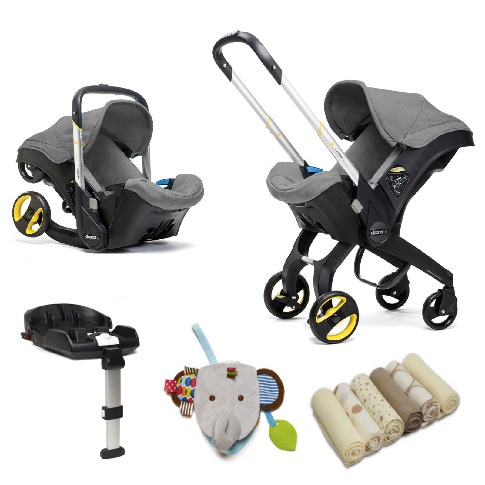 Doona Infant Car Seat Stroller With Isofix Base Accessories