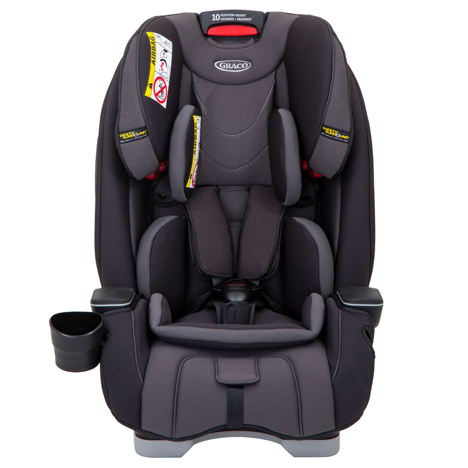 Graco Slimfit Group 0 123 Car Seat Midnight Grey