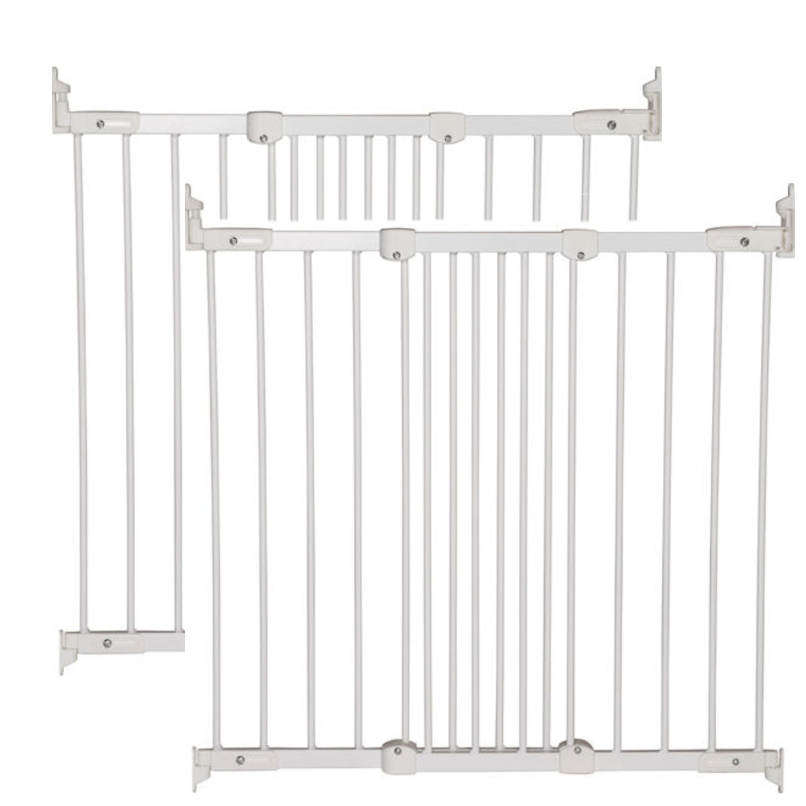 Babydan Super Flexi Fit Extending Safety Gate Pack Of 2