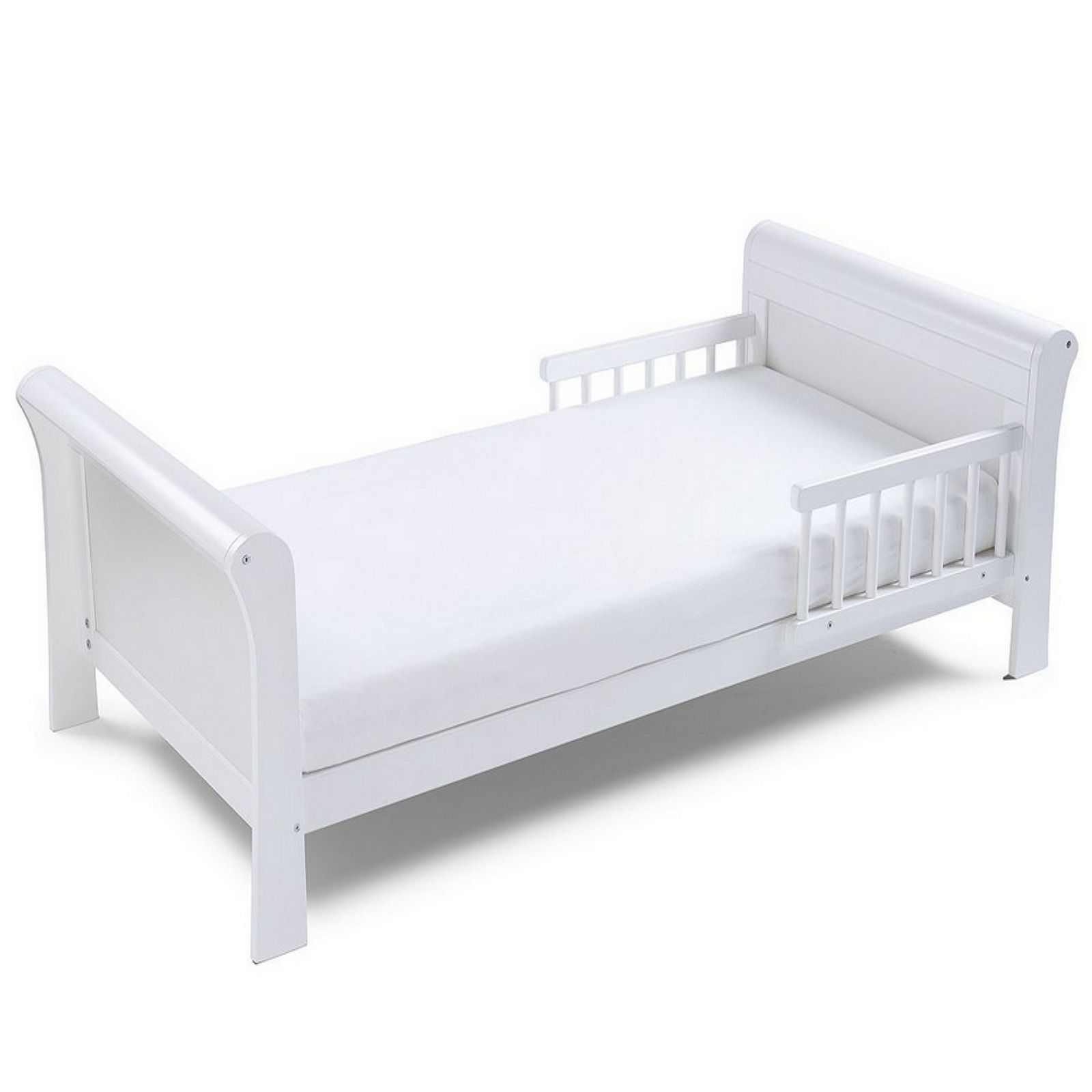 Saplings katie crib natural free mattress saplings for Starter bed