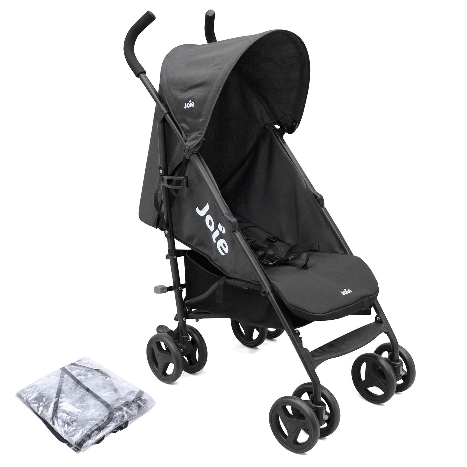 Joie Nitro Pushchair Stroller with Raincover - Black | Buy ...