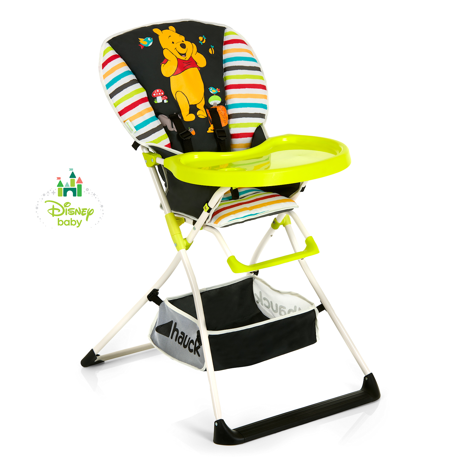 Hauck Disney Mac Baby Highchair Pooh Tidy Time