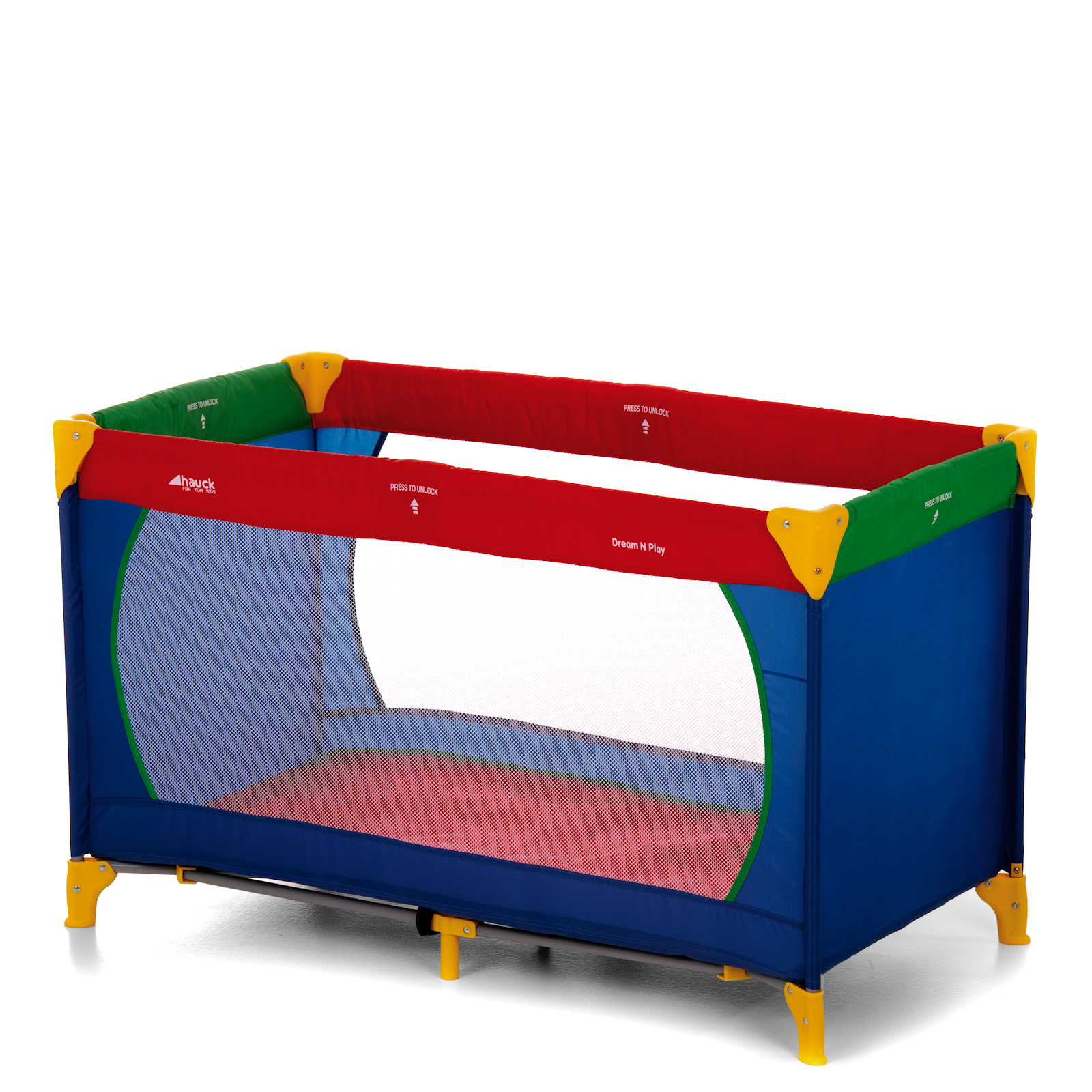 Hauck Dream n Play Travel Cot Baby Playpen Multicolour