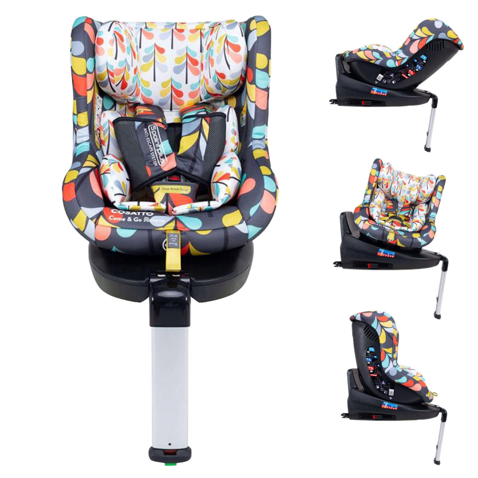 Cosatto Come & Go 360 Rotate Group 0+/1 Car Seat - Nordik
