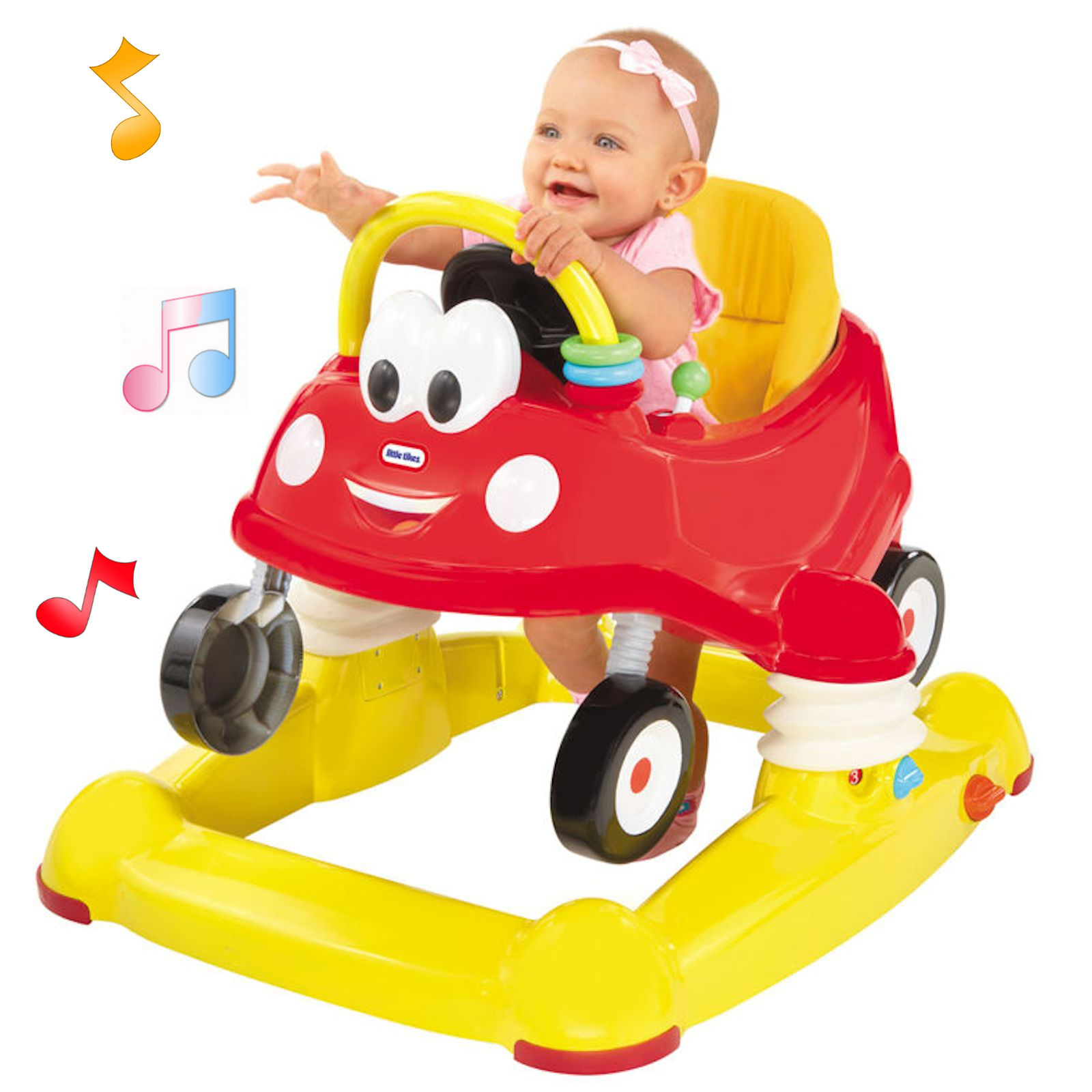 Little Tikes 3in1 Luxury Cozy Coupe Musical Walker Entertainer