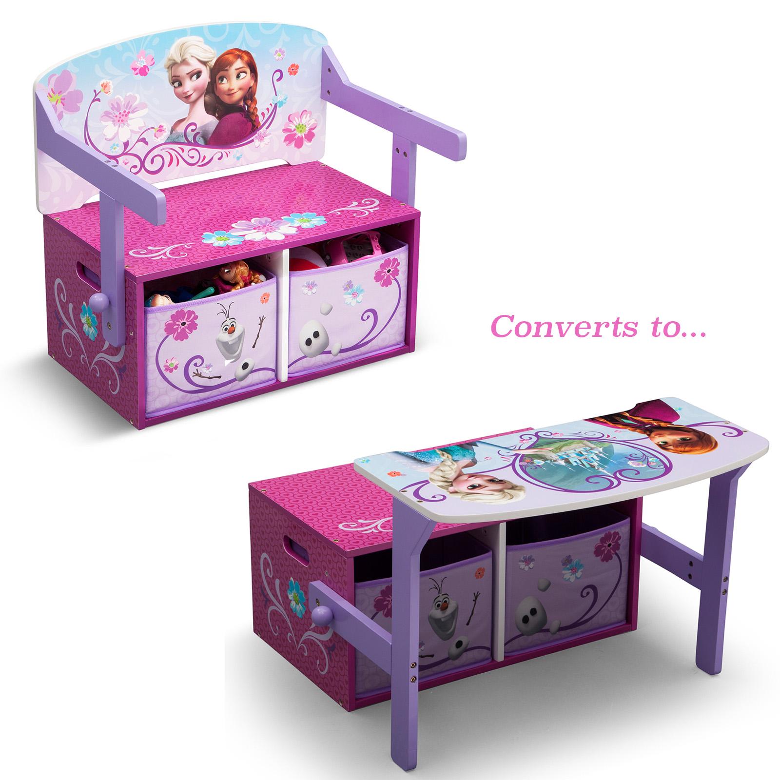 Disney Frozen Chair Desk With Storage Bin Disney Frozen