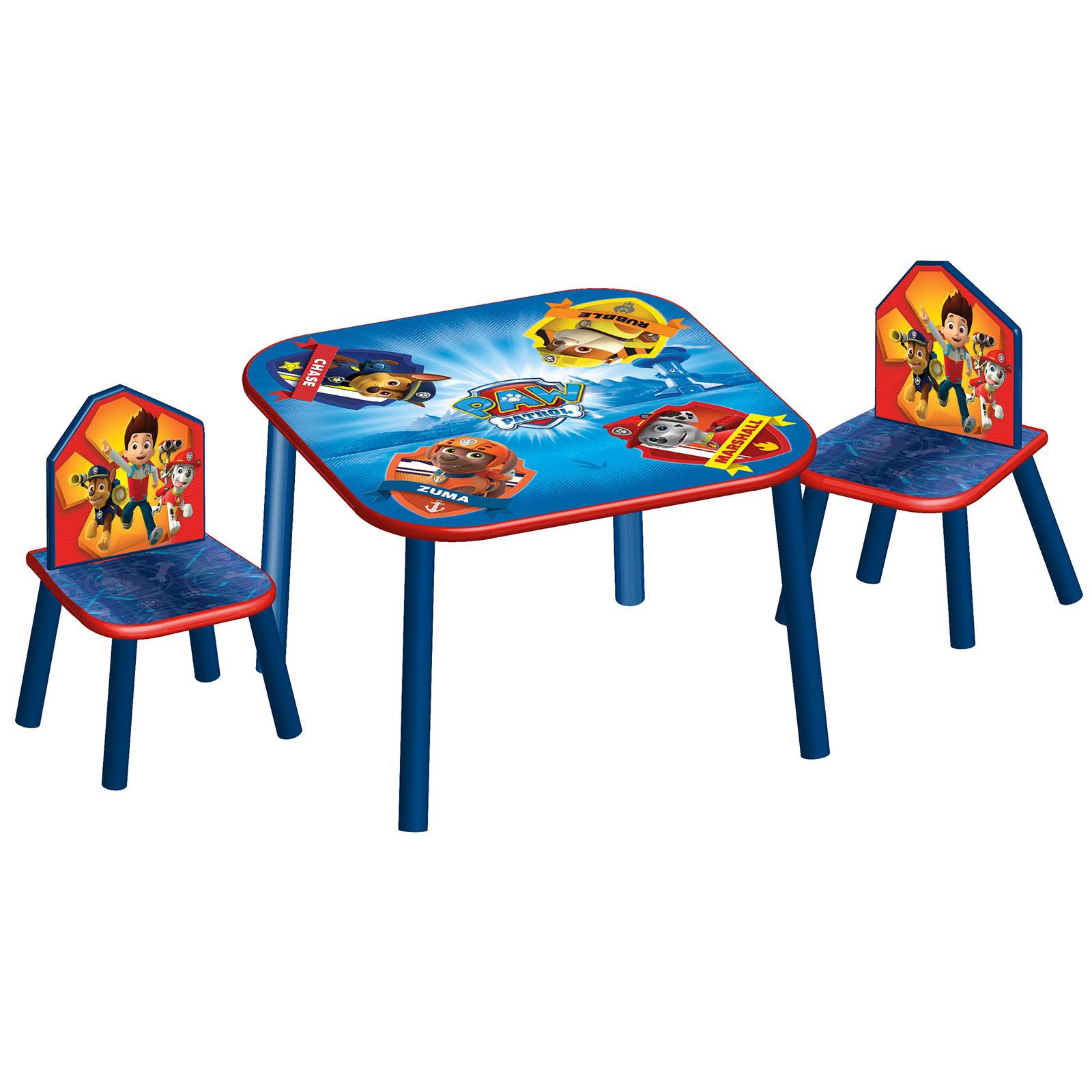 Delta Children Table & Chairs Set Paw Patrol