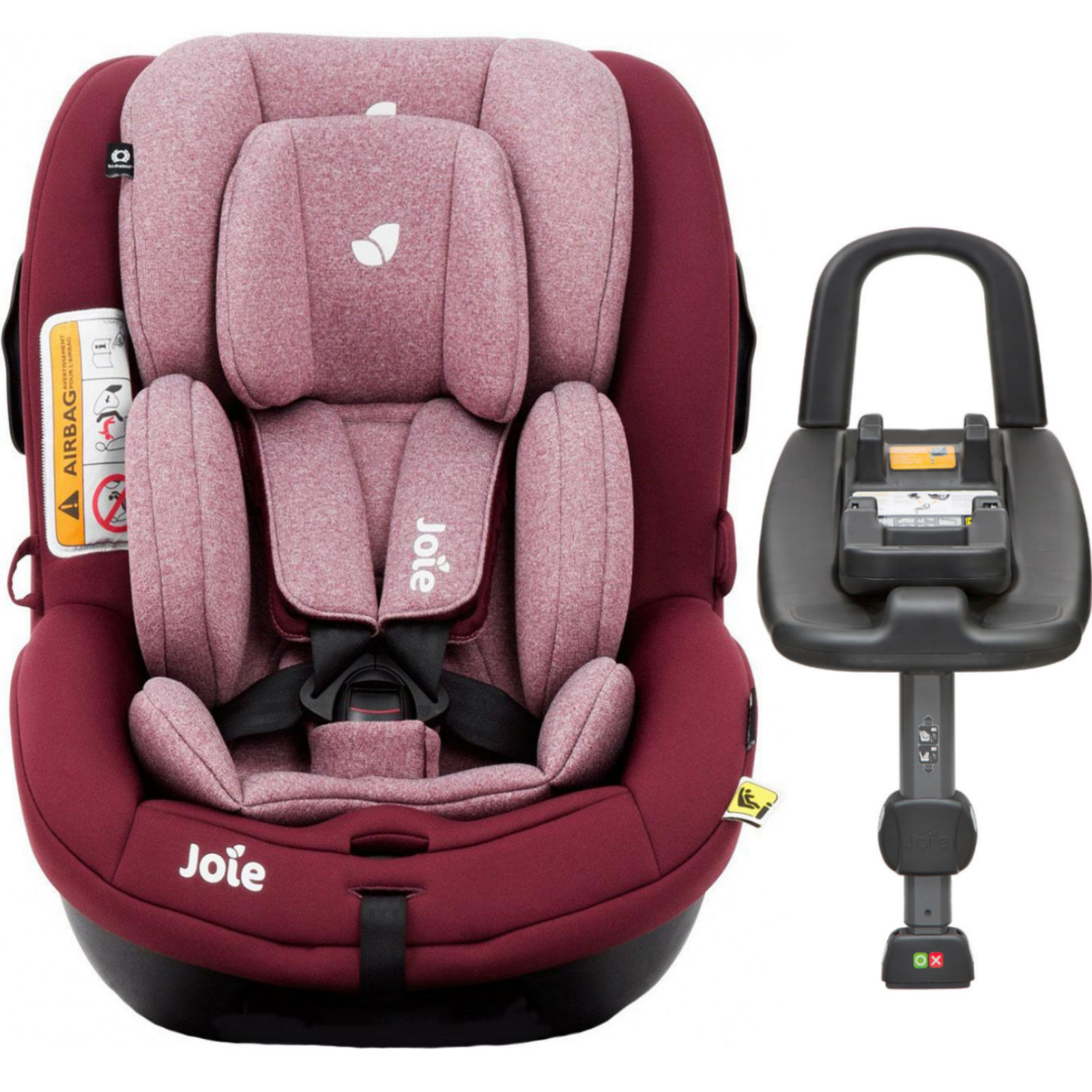 how to put isofix base in car
