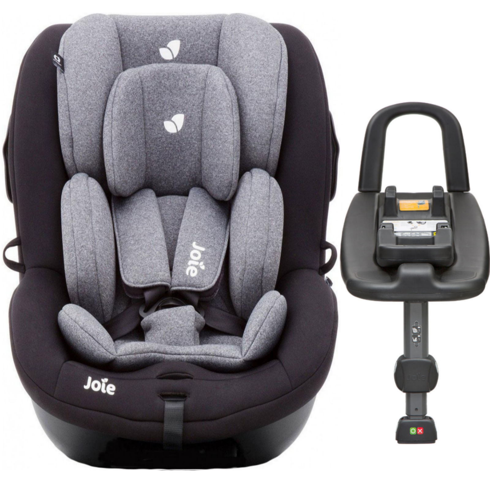joie i anchor advance group 0 1 baby car seat and isofix base two tone black buy at online4baby. Black Bedroom Furniture Sets. Home Design Ideas