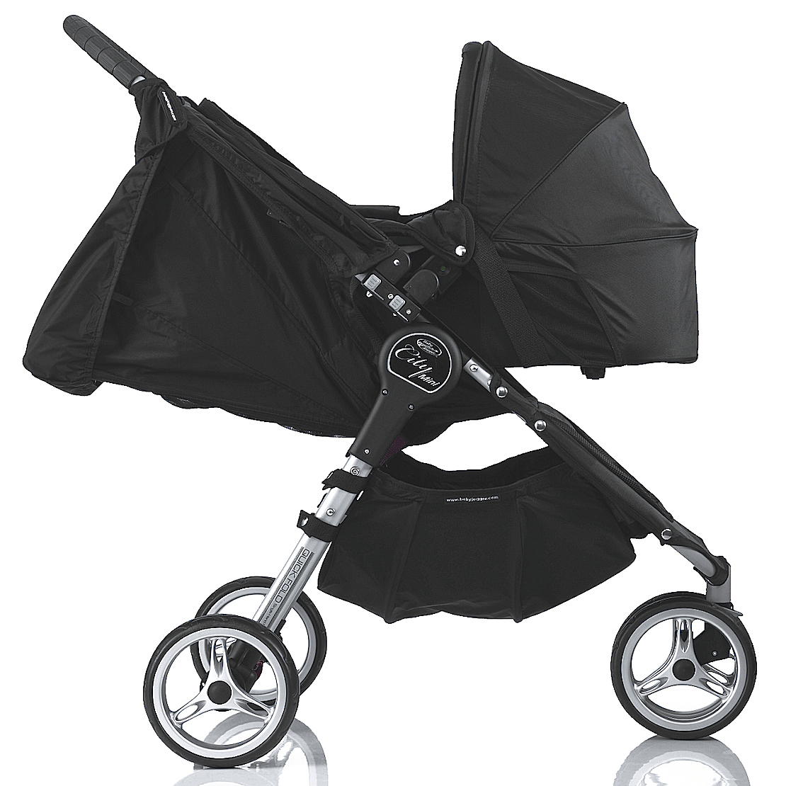 4baby Fits Baby Jogger City Mini Carrycot Pram City Mini Gt Single Raincover