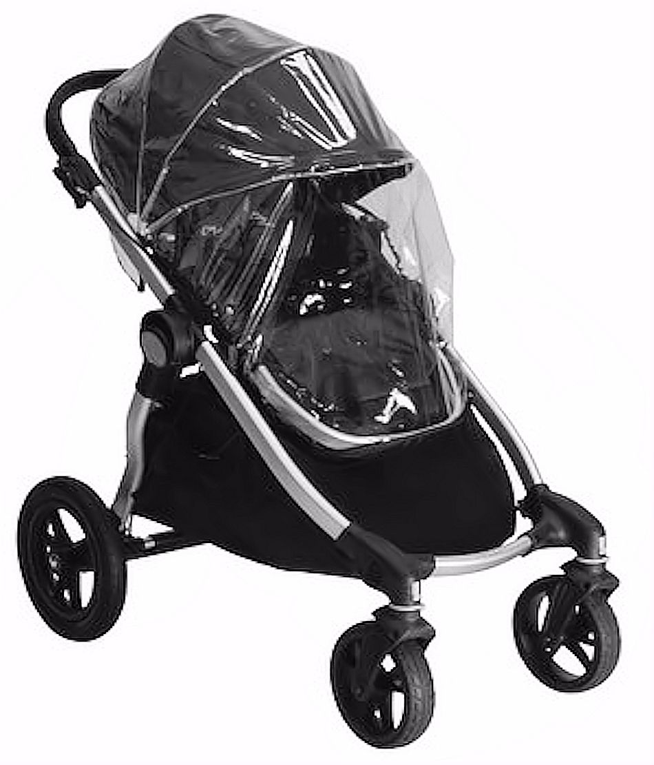 4baby Fits Baby Jogger City Select Versa Seat Carrycot Raincover