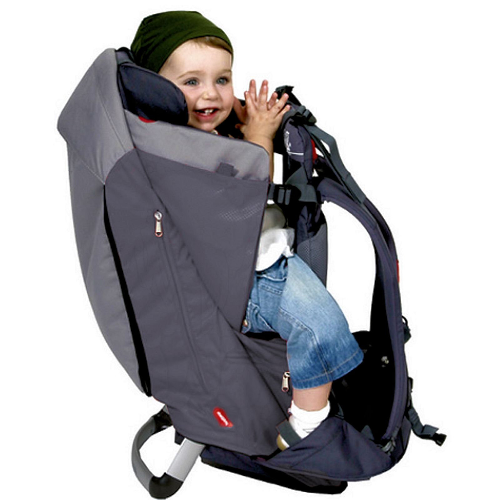 Phil & Teds Escape Baby Carrier Charcoal