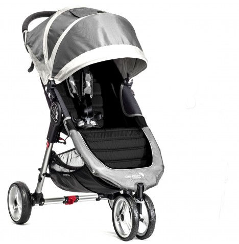 New Baby Jogger City Mini Single Stroller Steel Grey