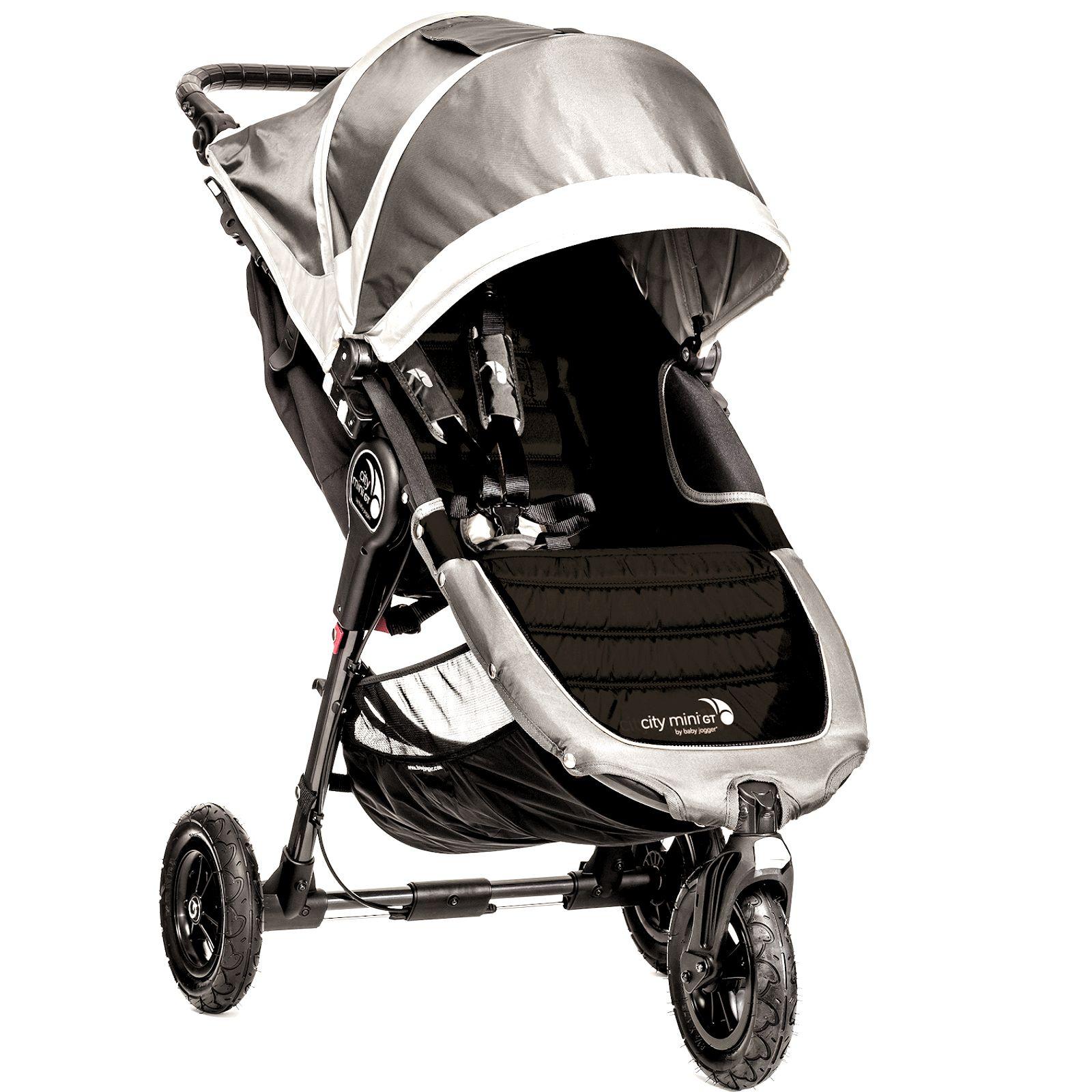 New Baby Jogger City Mini GT Single Stroller Steel Grey