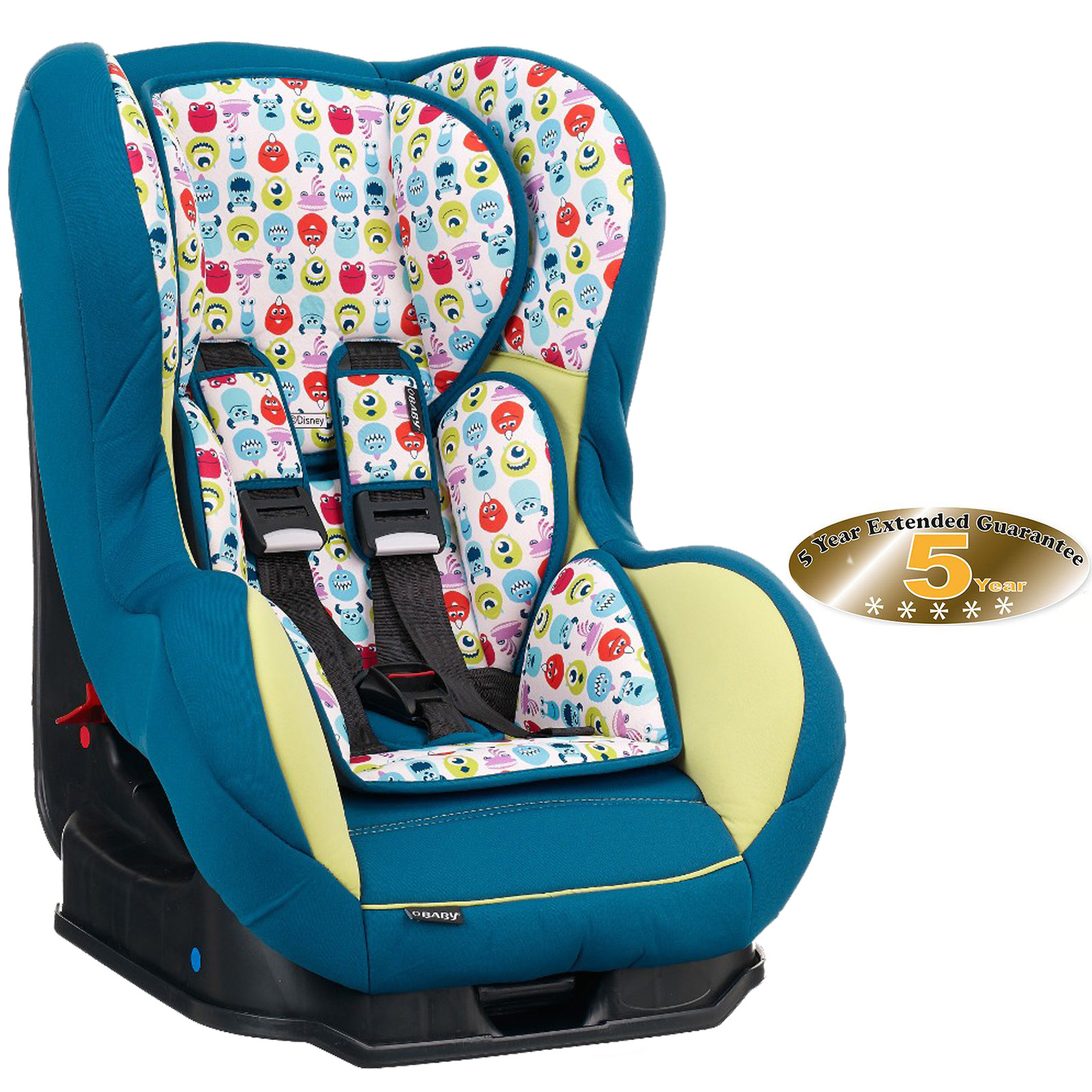 Obaby Disney Group 0/1 Combination Car Seat - Monsters Inc | Buy at ...