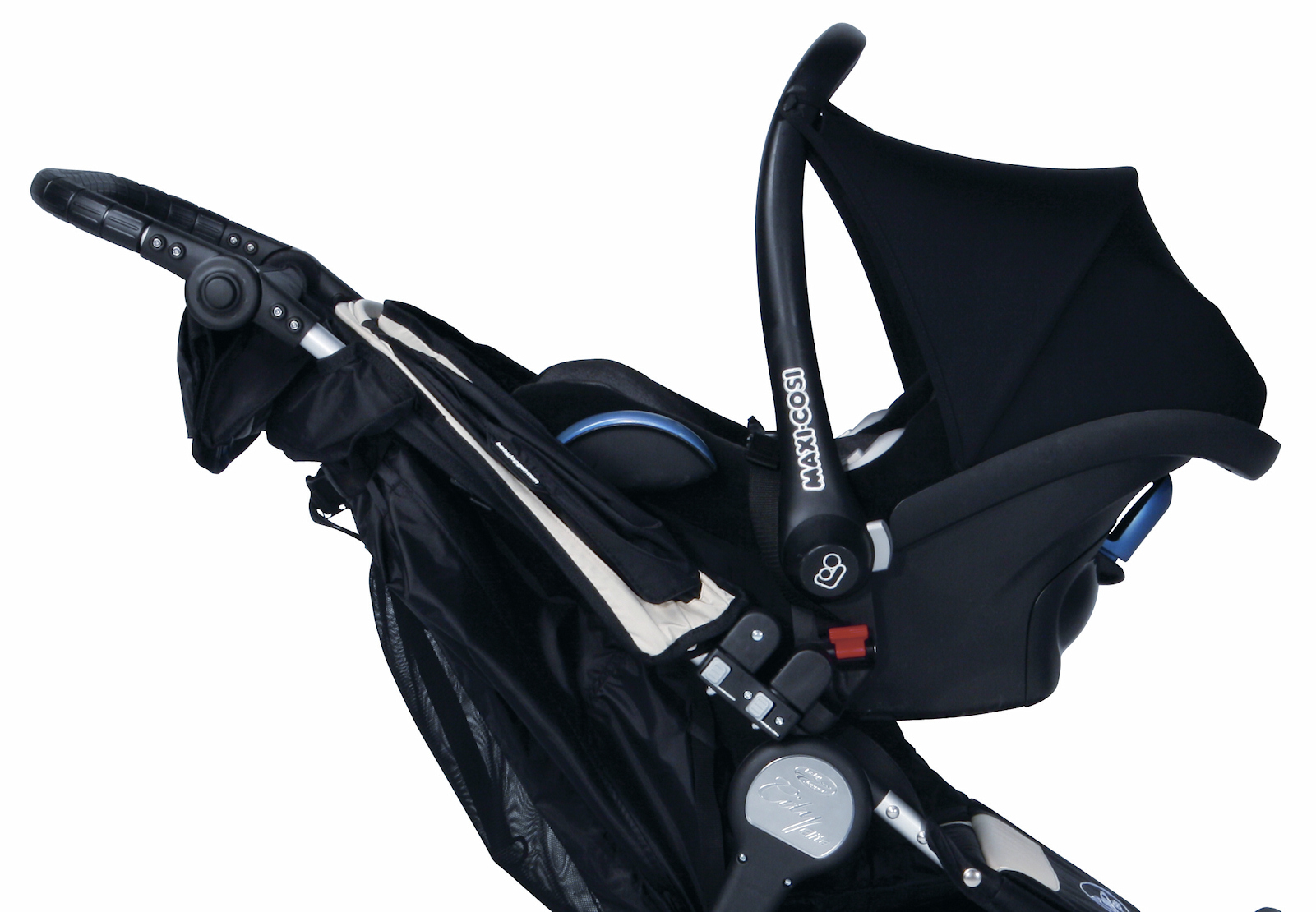 City Mini Gt Double Car Seat Adapter Maxi Cosi Velcromag