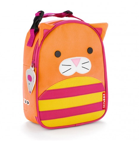 Skip Hop Zoo Lunchie Children's Lunch Bag - Chase Cat