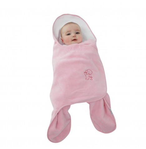 Tippitoes Star Wrap Blanket - Pink