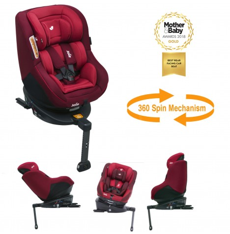 Joie Spin 360 Group 0+/1 Isofix Car Seat - Merlot..