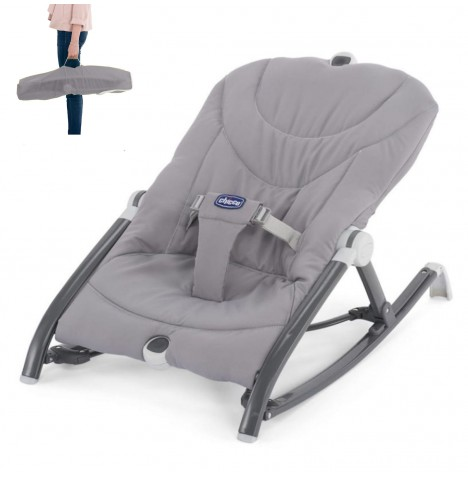Chicco Pocket Relax Travel Baby Bouncer - Grey..