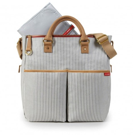 Skip Hop Duo Signature Special Edition Changing Bag - French Stripe