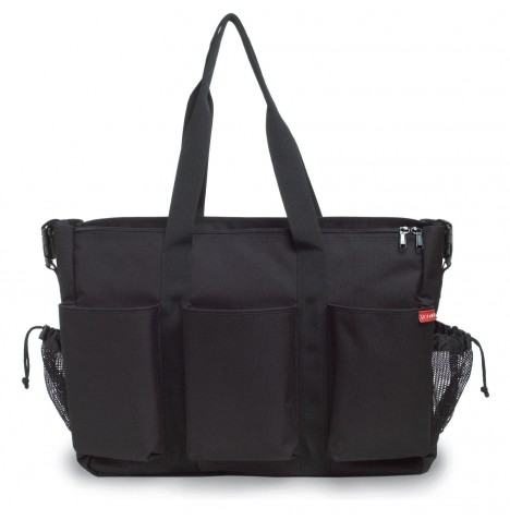 Skip Hop Duo Double Signature Changing Bag - Black