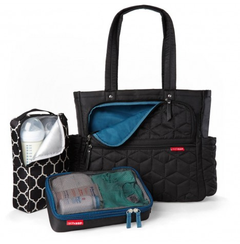 Skip Hop Forma Pack & Go Tote Changing Bag - Black