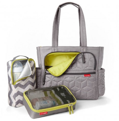 Skip Hop Forma Pack & Go Tote Changing Bag - Grey