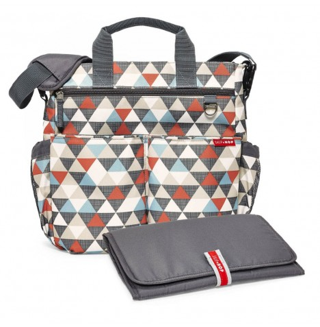 Skip Hop Duo Signature Changing Bag - Triangles