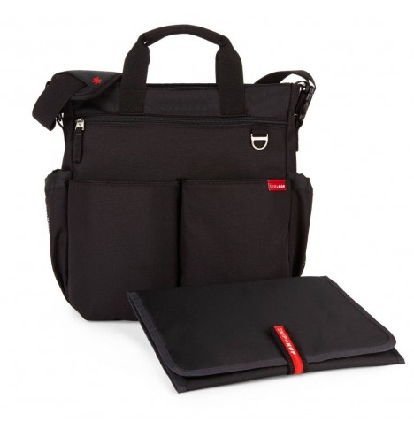 Skip Hop Duo Signature Changing Bag - Black