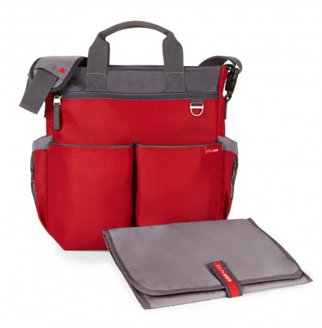 Skip Hop Duo Signature Changing Bag - Red