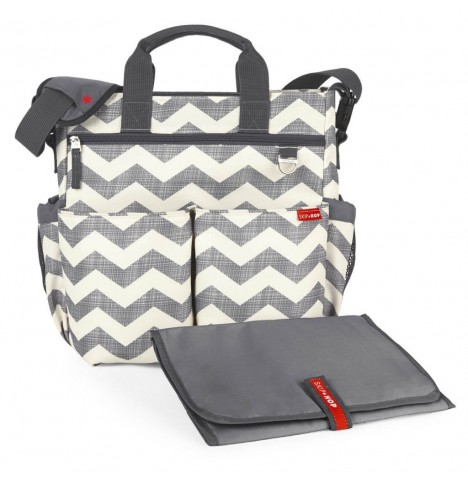 Skip Hop Duo Signature Changing Bag - Chevron