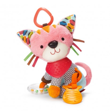 Skip Hop Bandana Buddies Activity Animal - Kitty