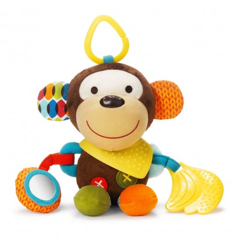 Skip Hop Bandana Buddies Activity Animal - Monkey