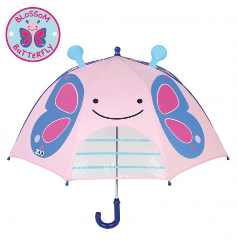 Skip Hop Zoo Childs Umbrella - Butterfly