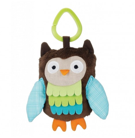 Skip Hop Wise Owl Stroller Toy - Treetop Friends