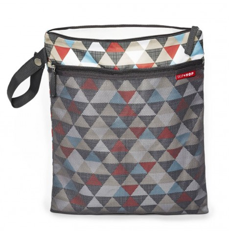 Skip Hop Grab & Go Wet / Dry Bag - Triangles