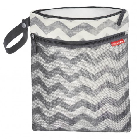 Skip Hop Grab & Go Wet / Dry Bag - Chevron