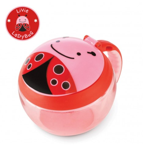 Skip Hop Zoo Snack Cup - Lady Bug