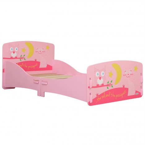 Kidsaw Junior / Toddler Bed - Owl & Pussycat