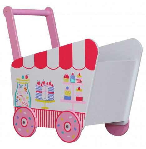 Kidsaw Push Along Toybox - Patisserie
