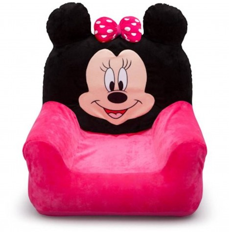 Delta Children Inflatable Club Chair - Disney Minnie Mouse