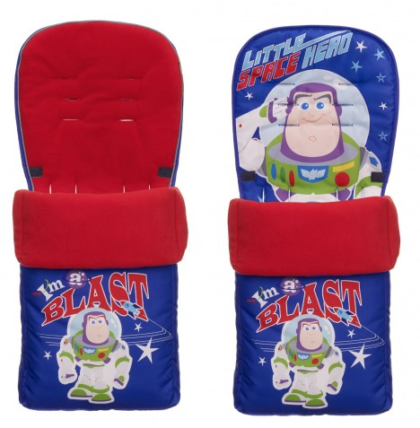 Obaby Disney Pushchair Footmuff - Buzz Lightyear Blue