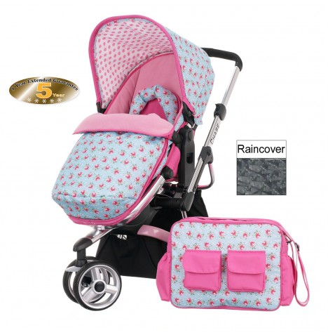 Obaby Chase Stroller - Cottage Rose