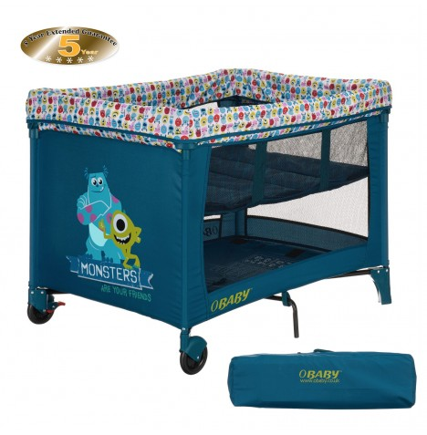 Obaby Disney Bassinette Travel Cot - Monsters Inc